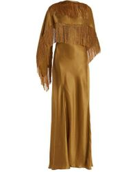Gabriela Hearst - Marlene V-neck Silk Wrap Dress - Lyst