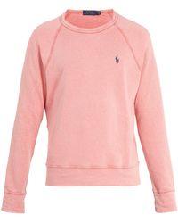 Polo Ralph Lauren - Spa Terry Crewneck Sweatshirt - Lyst