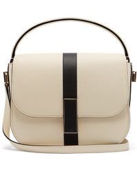 Valextra - Iside Grained Leather Cross Body Bag - Lyst