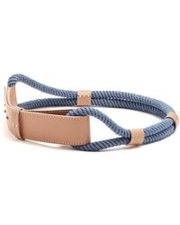 ROKSANDA - Leather And Rope Waist Belt - Lyst