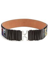 Fendi | Logo-print Velvet Belt | Lyst