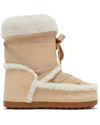Bogner - New Tignes Suede And Shearling Boots - Lyst