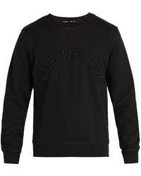 The Upside - Big Logo Redford Cotton Sweatshirt - Lyst