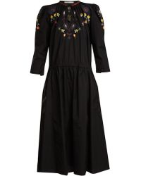 Queene And Belle - Gardenia Embroidered Dress - Lyst