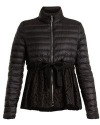 Moncler - Serpentine Quilted-down Embroidered Jacket - Lyst