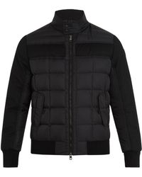 Moncler - Aramis Wool-panel Quilted-down Coat - Lyst