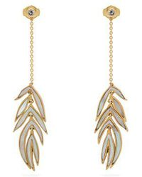 Marc Alary - - Snake Head 18kt Gold Single Earring - Womens - Yellow Gold - Lyst