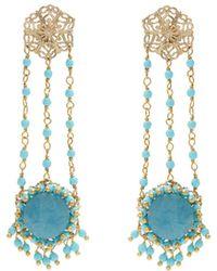 Rosantica By Michela Panero - Corte Drop Earrings - Lyst