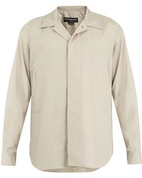 Balenciaga - Point-collar Cotton Shirt - Lyst