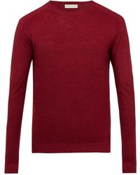Etro | Crew-neck Wool Sweater | Lyst