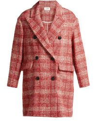 Étoile Isabel Marant - Ebra Double-breasted Wool-blend Coat - Lyst