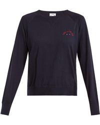 The Upside - Wilder Cotton Jersey Sweatshirt - Lyst