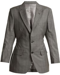 Toga - Single-breasted Prince Of Wales Blazer - Lyst