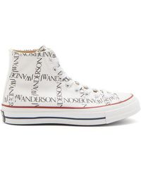 Converse - Chuck 70 Canvas Logo High-top Trainers - Lyst