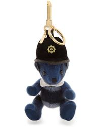 Burberry - The Bobby Thomas Bear Key Ring - Lyst