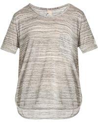 Todd Snyder - Round-neck Marbled-jersey T-shirt - Lyst