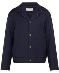 Éditions MR - Bonaparte Cuban Collar Wool Jacket - Lyst