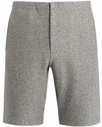 Rag & Bone - Racer Cotton-jersey Shorts - Lyst