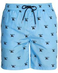 Burberry - Archive Logo Swim Shorts - Lyst