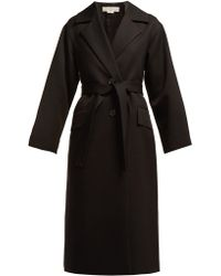 Golden Goose Deluxe Brand - Single Breasted Wool Trench Coat - Lyst