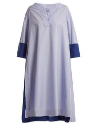 Thierry Colson - Samia Cotton-poplin Cover-up - Lyst