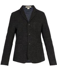 Massimo Alba - Quilted-lining Yak-wool Jacket - Lyst