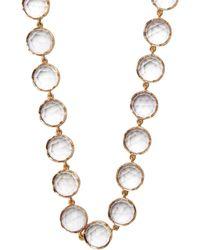 Irene Neuwirth - Rose De France Amethyst & Rose-gold Necklace - Lyst