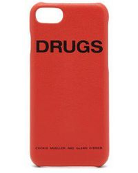 Raf Simons - Leather Iphone 7/8 Case - Lyst