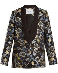 Erdem - Anisha Floral-jacquard Jacket - Lyst
