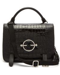 JW Anderson - Disc Patent Leather Satchel Bag - Lyst