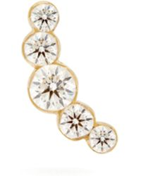 Maria Tash - 18kt Gold And Diamond Single Earring - Lyst
