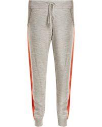 Amanda Wakeley - Pantalon de jogging à bandes latérales Aldridge - Lyst