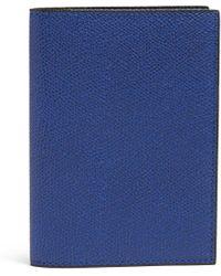 Valextra | Grained-leather Passport Holder | Lyst