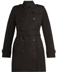 Burberry - Kensington Belted Cotton Trench Coat - Lyst