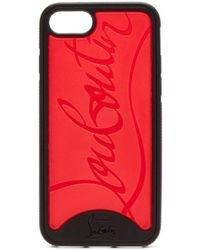 Christian Louboutin - Loubiphone Rubber Iphone 8 Case - Lyst