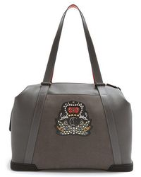 Christian Louboutin - Bagdamon Leather Holdall - Lyst