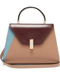 Valextra - Iside Medium Leather Bag - Lyst