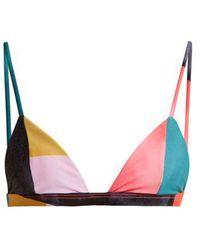 Mara Hoffman - Astrid Triangle Bikini Top - Lyst
