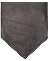 CALVIN KLEIN 205W39NYC - Logo Embroidered Leather Bandana - Lyst