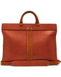 Passavant and Lee | Peploe Leather Briefcase | Lyst