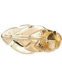 Aurelie Bidermann - - Talitha Gold Plated Ring - Womens - Gold - Lyst