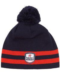 Perfect Moment - La Tour Wool Blend Beanie Hat - Lyst