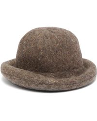 Acne Studios - X Stephen Jones Wool Blend Hat - Lyst