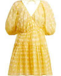 Cecile Bahnsen - Suzette Floral Fil Coupé Dress - Lyst