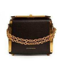 Alexander McQueen - Box Bag 19 Leather Shoulder Bag - Lyst