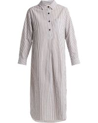 Mara Hoffman - Hannah Striped Cotton Dress - Lyst