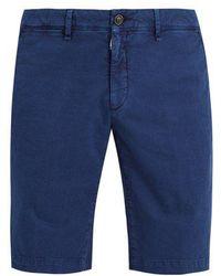 Moncler - Cotton-gabardine Shorts - Lyst