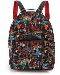 Christian Louboutin | Loubitag Printed Backpack | Lyst