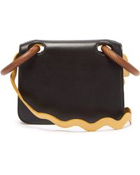 ROKSANDA - Neneh Wave Strap Leather Cross Body Bag - Lyst