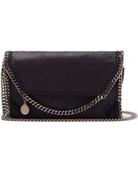 Stella McCartney - Falabella Faux Leather Mini Cross Body Bag - Lyst